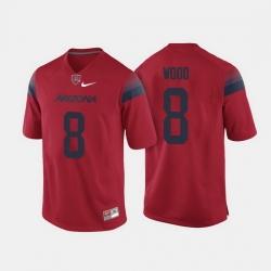 Arizona Wildcats Trevor Wood College Football Red Jersey