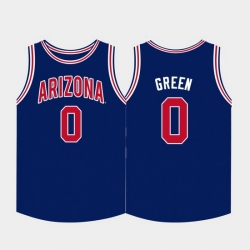 Men Arizona Wildcats Josh Green College Basketball Navy Jersey