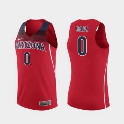 Men Arizona Wildcats Josh Green Replica Red College Basketball Jersey