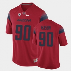 Men Arizona Wildcats Trevon Mason College Football Red Game Jersey