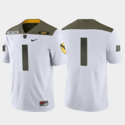 Men Army Black Knights 1 White 1St Cavalry Division Limited Edition Jersey