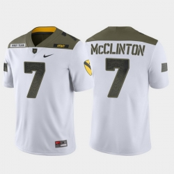 Men Army Black Knights Jaylon Mcclinton 7 White 1St Cavalry Division Limited Edition Jersey