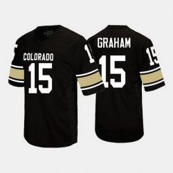 Colorado Buffaloes Chris Graham College Football Black Jersey
