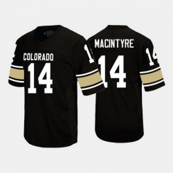 Colorado Buffaloes Jay Macintyre College Football Black Jersey