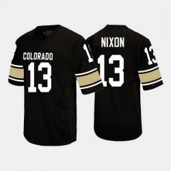 Colorado Buffaloes K.D. Nixon College Football Black Jersey