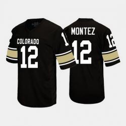 Colorado Buffaloes Steven Montez College Football Black Jersey