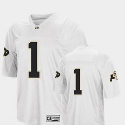 Men Colorado Buffaloes 1 White College Football Colosseum Jersey