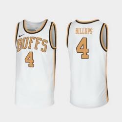 Men Colorado Buffaloes Chauncey Billups Throwback White Sox Walseth Era Jersey