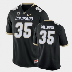 Men Colorado Buffaloes Mister Williams College Football Black Game Jersey