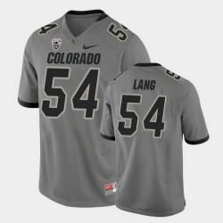 Men Colorado Buffaloes Terrance Lang College Football Gray Alternate Game Jersey