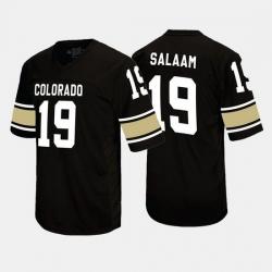 Men Rashaan Salaam Black Colorado Buffaloes Alumni Football Game Jersey