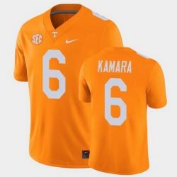 Men Tennessee Volunteers Alvin Kamara College Football Orange Alumni Player Game Jersey