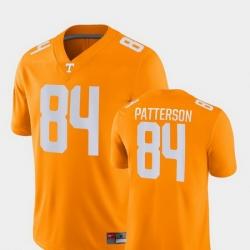 Men Tennessee Volunteers Cordarrelle Patterson 84 Orange Game College Football Jersey