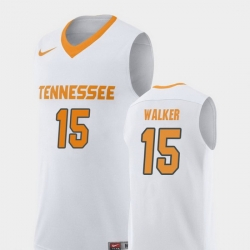 Men Tennessee Volunteers Derrick Walker White Replica College Basketball Jersey