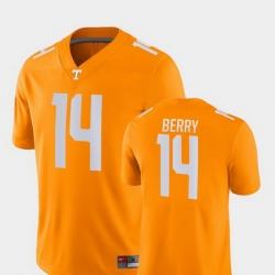 Men Tennessee Volunteers Eric Berry 14 Orange Game College Football Jersey