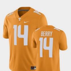 Men Tennessee Volunteers Eric Berry Tennessee Orange Alumni Football Game Player Jersey