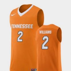 Men Tennessee Volunteers Grant Williams Orange Replica College Basketball Jersey