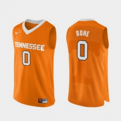 Men Tennessee Volunteers Jordan Bone Orange Authentic Performace College Basketball Jersey