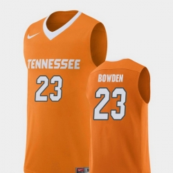 Men Tennessee Volunteers Jordan Bowden Orange Replica College Basketball Jersey