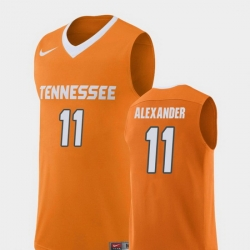 Men Tennessee Volunteers Kyle Alexander Orange Replica College Basketball Jersey