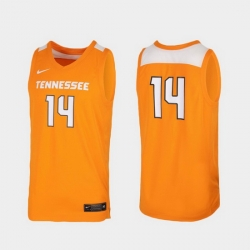 Men Tennessee Volunteers Tennessee Orange Replica College Basketball Nike Jersey