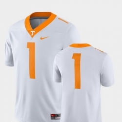 Men Tennessee Volunteers White College Football 2018 Game Jersey