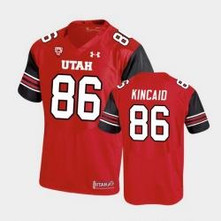 Men Utah Utes Dalton Kincaid Premier Performance Football Red Jersey