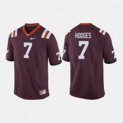 Men Virginia Tech Hokies Bucky Hodges College Football Maroon Jersey