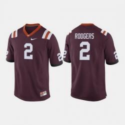 Men Virginia Tech Hokies Tyree Rodgers College Football Maroon Jersey