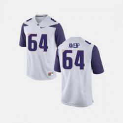 Men Washington Huskies A.J. Kneip College Football White Jersey