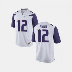 Men Washington Huskies Aaron Fuller College Football White Jersey