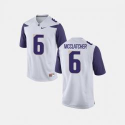 Men Washington Huskies Chico Mcclatcher College Football White Jersey