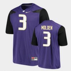 Men Washington Huskies Elijah Molden Alumni Football Game Purple Jersey
