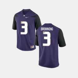 Men Washington Huskies Jake Browning College Football Purple Jersey