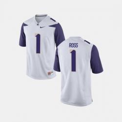 Men Washington Huskies John Ross Iii College Football White Jersey