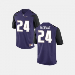 Men Washington Huskies Kamari Pleasant College Football Purple Jersey