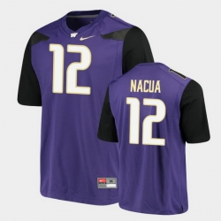 Men Washington Huskies Puka Nacua Alumni Football Game Purple Jersey