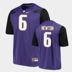 Men Washington Huskies Richard Newton Alumni Football Game Purple Jersey