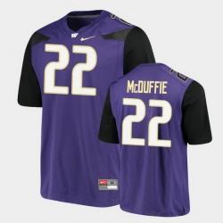 Men Washington Huskies Trent Mcduffie Alumni Football Game Purple Jersey