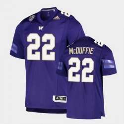 Men Washington Huskies Trent Mcduffie College Football Purple Game Jersey