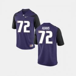 Men Washington Huskies Trey Adams College Football Purple Jersey