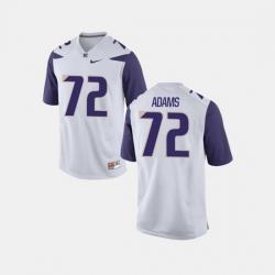 Men Washington Huskies Trey Adams College Football White Jersey