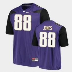 Men Washington Huskies Ty Jones Alumni Football Game Purple Jersey