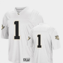 Men Ucf Knights 1 White College Football Colosseum Jersey