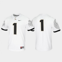 Men Ucf Knights 1 White Untouchable Game Jersey