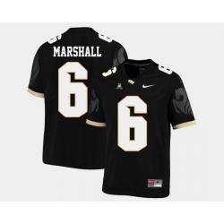 Men Ucf Knights Brandon Marshall Black College Football Aac Jersey