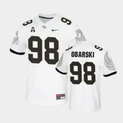 Men Ucf Knights Daniel Obarski College Football White Untouchable Game Jersey
