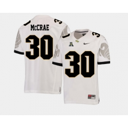 Men Ucf Knights Greg Mccrae White College Football Aac Jersey