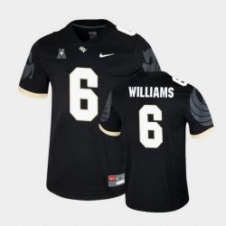 Men Ucf Knights Marlon Williams College Football Black Game Jersey