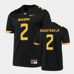 Men Missouri Tigers Ennis Rakestraw Jr. Untouchable Game Black Jersey